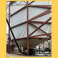 Тканевый бункер для пеллет и др сыпучих материалов (гибкий, мягкий бункер), силос IGNIS