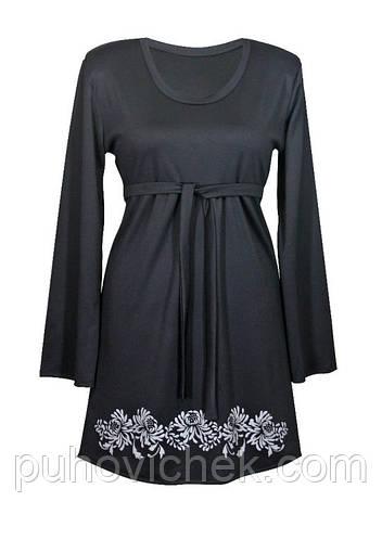 Женское теплое платье большого размера