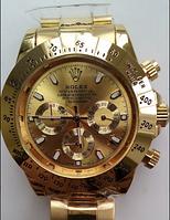 Часы мужские Rolex Cosmograph Daytona Gold  механика, фото 1