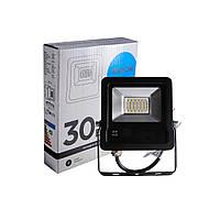 Прожектор светодиодный уличный DAYON LSR1503 30W 6500K IP65 Черный, КОД: 146604
