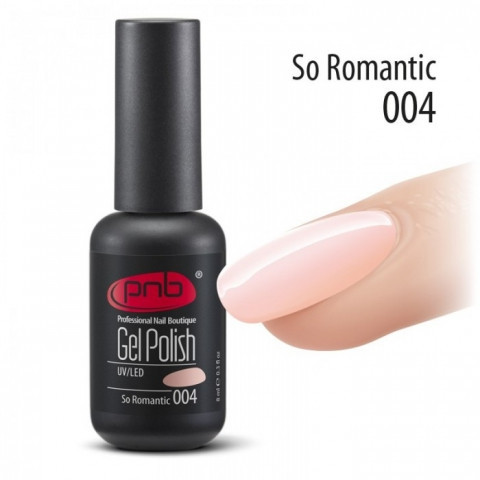 Гель-лак PNB №4 So Romantic 8 мл.