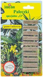 Удобрение в палочках инсектицидные от вредителей Zielony Dom, 20 штук