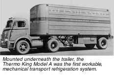 Thermo king 1938 год первый рефрежератор