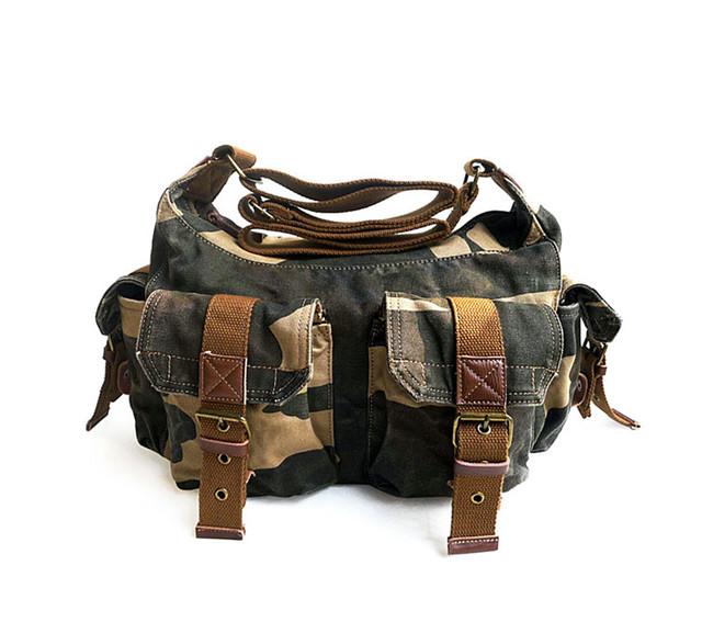 Молодежная мужская сумка Virginland   хаки   камуфляж