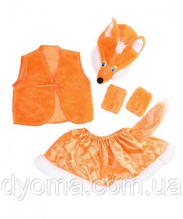 """Дитячий карнавальний костюм """"Лисичка"""" для дівчаток, фото 2"""