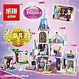 "Конструктор Lepin 25006 ""Романтический замок Золушки"" 697 деталей. Аналог Lego Disney Princess 41055, фото 4"