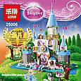"Конструктор Lepin 25006 ""Романтический замок Золушки"" 697 деталей. Аналог Lego Disney Princess 41055, фото 5"