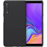 Чехол Nillkin Matte для Samsung A750 Galaxy A7 (2018) Черный