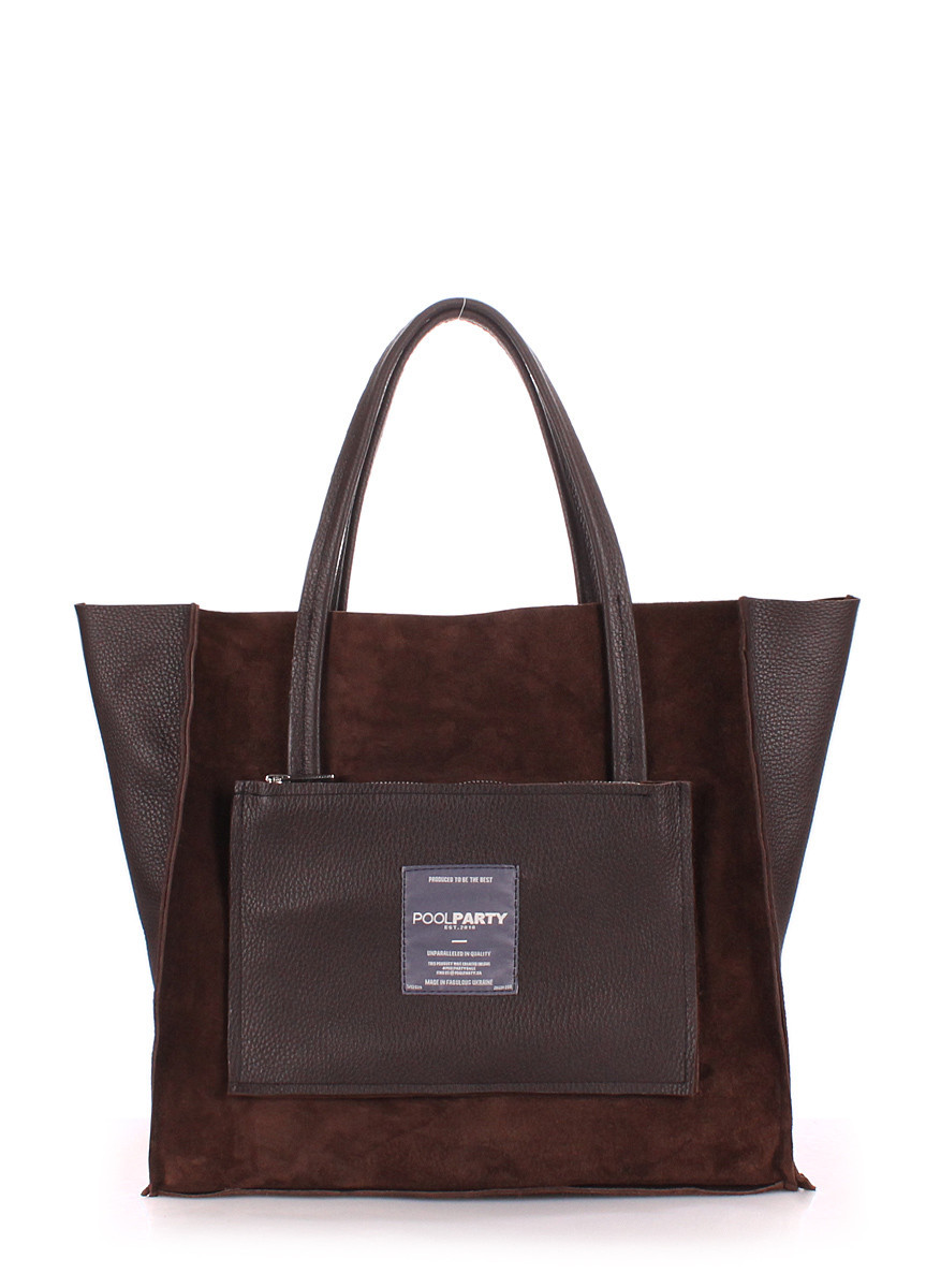 a269c6863261 Кожаная сумка POOLPARTY Soho, цена 1 561,95 грн., купить в Хмельницком —  Prom.ua (ID#795412689)