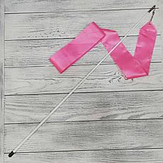 Лента гимнастическая розовая (6 метров)
