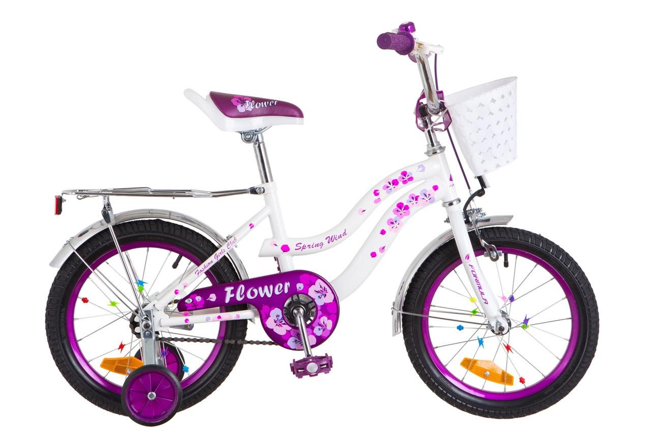 """Детский велосипед """"Formula Kids Flower 16"""" 2018"""