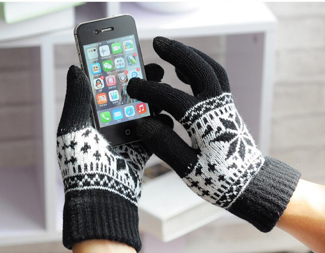 Перчатки для сенсорных экранов Corona