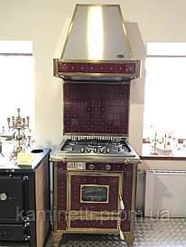 Газовая плита, духовой шкаф и вытяжка. Wekos. Италия. (Комплект)