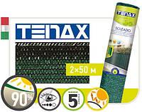 Сетка полимерная, тканная для затенения « Тенакс Солеадо» зеленая 2х50., фото 1