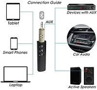 Bluetooth стерео гарнитура (приёмник ресивер) с аудио выходом 3.5м