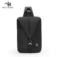 Модный городской однолямочный рюкзак для бизнеса и путешествий Arctic Hunter XB00061, влагозащищённый, 5л