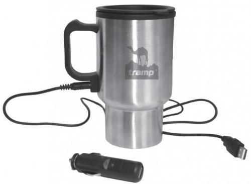 Термокружка с подогревом 0,45 л Tramp Cup TRC-064 на 12В USB входом