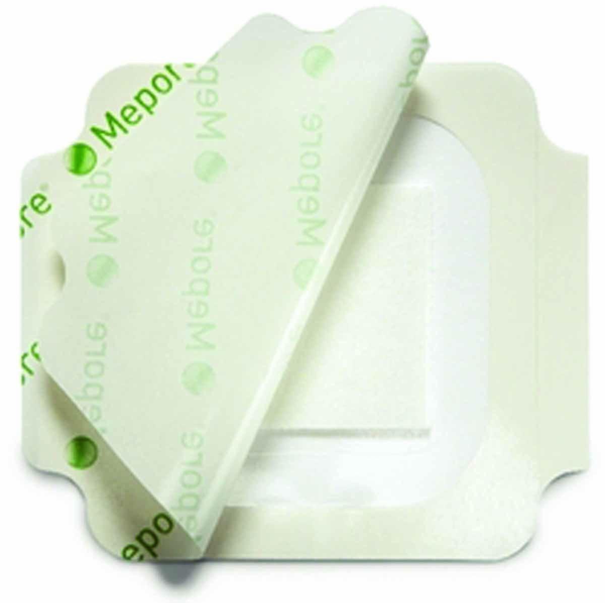 Mepore Film & Pad повязка на рану стерильная, прозрачная, водонепроницаемая 5 х 7 см