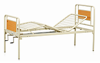 Кровать медицинская OSD-94V металлическая трехсекционная