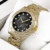 Мужские наручные часы Marc Jacobs Quartz Gold Black Dimond унисекс Марк Джейкобс Якобс премиум реплика