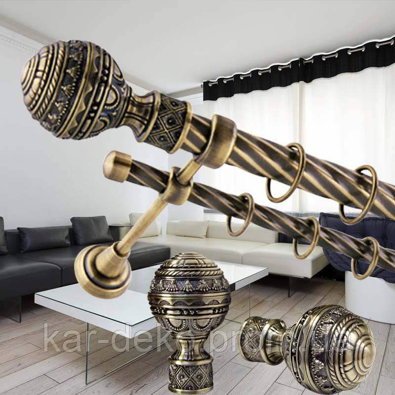 Карниз металлический кованный Гоа