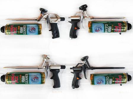 Пистолет для пены Бригадир profi никель, фото 2