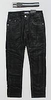 Вельветовые брюки на флисе для мальчиков Seagull оптом ,134-164 рр.