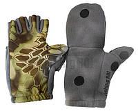 Перчатки  рыбацкие с пал. Рептилия