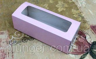 Коробка для макаронс, с окном, пудра