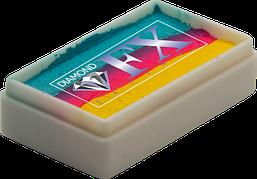 Аквагрим Diamond FX cплит кейк 28g Гавайский Коктейль