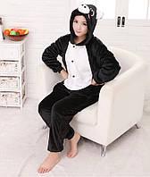 Пижама кигуруми свинка черная tez0069