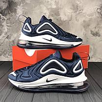 """Кроссовки Nike Air Max 720 """"Blue"""" (Синие), фото 2"""