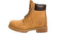 fa7af34524df Зимние мужские ботинки Timberland 6 inch Yellow Winter (Шерстяной мех)(Реплика  ААА+