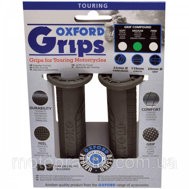 Oxford Touring Grips (pair) Soft Compound, Ручки (грипсы) руля