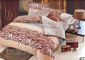 Сатиновое постельное белье евро ELWAY 4008