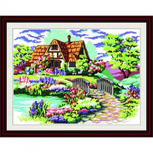 Набор для вышивания крестиком Дом мечты