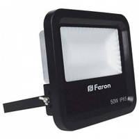 Светодиодный прожектор многоматричный с матовым стеклом FERON LL-650 50W 6400K 230V IP65