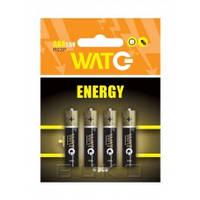 Элемент питания AAA R03P 1.5V ZINK CARBON 4ШТ/УП WATC