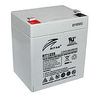 Аккумуляторная батарея AGM RITAR RT1255, Gray Case, 12V 5.5Ah ( 90 х 70 х 101 (107) ) Q10