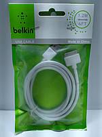 USB кабель для iPad 2 iPad 3/ iPod   Belkin 1.2 м (белый)