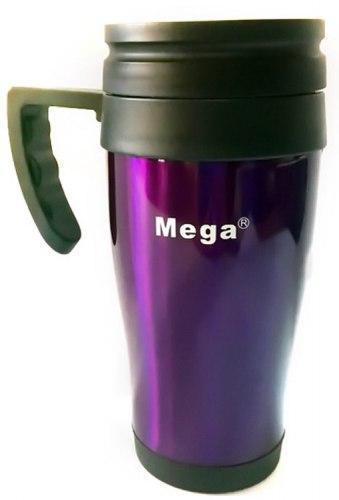 Термокружка 0,4 л Mega PR040 фиолетовая