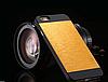 Золотой чехол Motomo на Iphone 6/6S