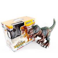 Динозавр GP2127, ходить, рухає головою і щелепою, світло, звук, 49 см