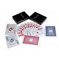 Карты игральные пластиковые «Poker Club» (Красная Рубашка)