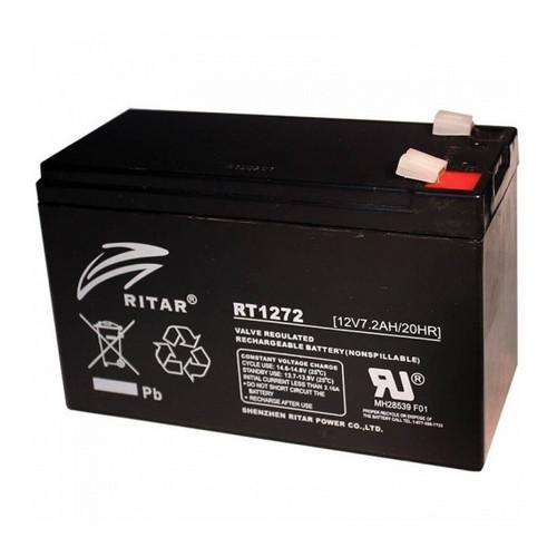 Аккумуляторная батарея AGM RITAR RT1272B, Black Case, 12V 7.2Ah  (151х65х93 (98) мм) Q10