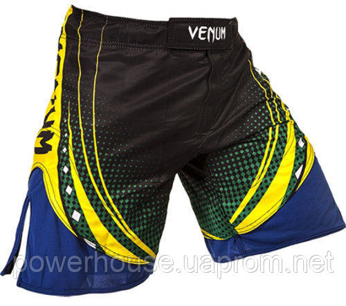Шорты Venum Lyoto Machida UFC Edition Electron 3.0 Fightshorts- Black