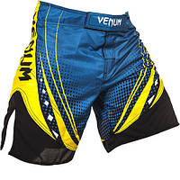 Шорты Venum Lyoto Machida UFC Edition Electron 3.0 Fightshorts- Blue, фото 1