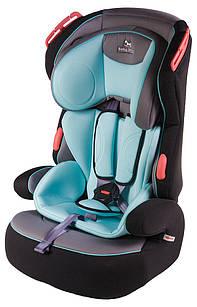 Автокресло Baby Shield Penguin Plus от 9кг до 18кг  grey turquoise (серый-бирюза)