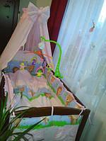 Постельные наборы в детскую кроватку
