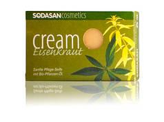 Натуральное мыло-крем SODASAN с маслами Ши и Вербены, 100 г